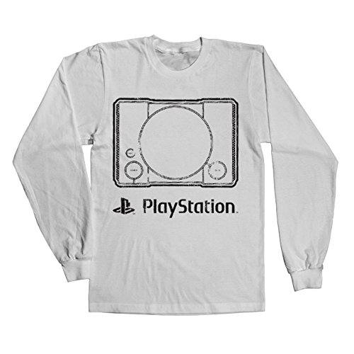 officially-licensed-merchandise-playstation-console-long-sleeve-tee-white-xx-large