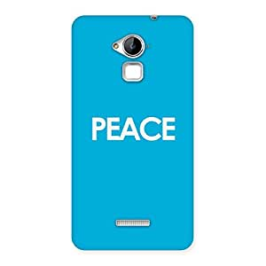 Cool Peace Back Case Cover for Coolpad Note 3