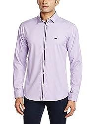 Park Avenue Men's Casual Shirt (8907117078194_PCSX00751-V3_42_Medium Violet)