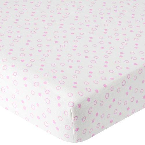 Babies R Us Flannel Crib Sheet Pink Dot William K Washingtonjio