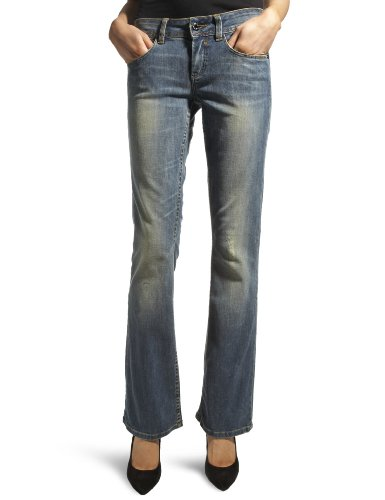 Firetrap Rema Soup Boot Cut Women's Jeans Soupwash 30W x 34L
