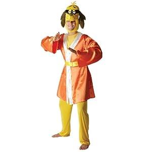 Hong Kong Phooey Mens Adult Fancy Dress Party Halloween Costume Hanna Barbera by Rubies