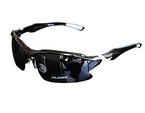 AikeSweet-40mm-X-70mm-Profesional-polarizadas-ciclismo-Gafas-Casual-gafas-de-sol-deportivas-Blanco-y-negro