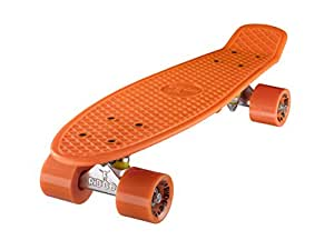 Ridge Original Retro Cruiser Skateboard complet Orange/Orange 55 cm x 15 cm