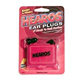 Hearos Earplugs Rock n Roll Series with Free Case, 1-Pair Foam
