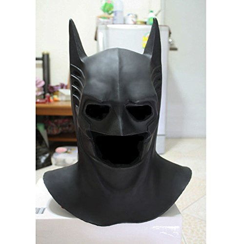 1:1 Custom Halloween Costume Cosplay Latex Batman Forever Mask LA01