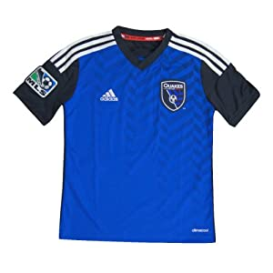 San Jose Earthquakes Adidas Soccer Primary Replica Jersey M by adidas
