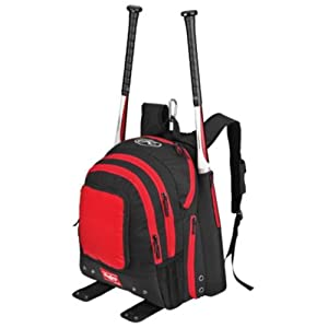 Red Rawlings Baseball Softball Back Pack Gear Equipment Bag with Adjustable Straps,... by Rawlings Authentic Sports Shop