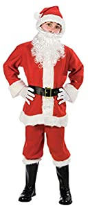 Fun World Costumes Baby Boy's Child Promotional Santa Suit, Red/White, Small