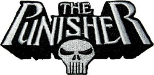 Application Punisher Skull and Logo Patch