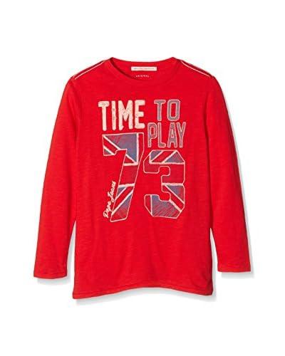 Pepe Jeans London Camiseta Manga Larga Telemaco Rojo