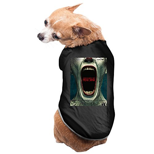 American Horror Story Freak Show Mouth Pet Cotton T-shirts Black (Monster Mouth)