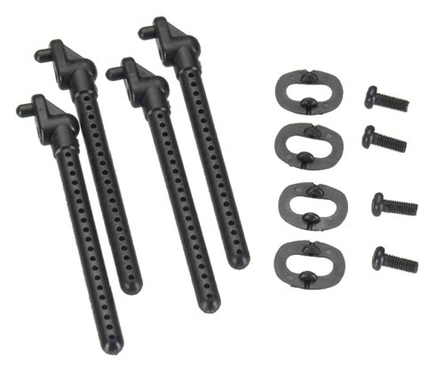 Team Associated 21287 18R Front and  Rear Body Mounts