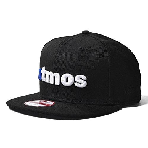 Amazon.co.jp: atmos NEW ERA 9FIFTY Logo CAP(アトモス ニューエラ スナップバックキャップ) (フリーサイズ, ブラック): 服&ファッション小物通販