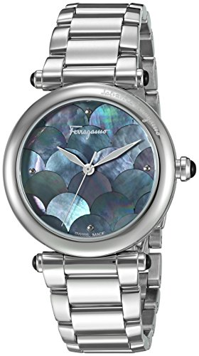 Salvatore-Ferragamo-Womens-IDILLIO-Quartz-Stainless-Steel-Casual-Watch-ColorSilver-Toned-Model-FCH050016