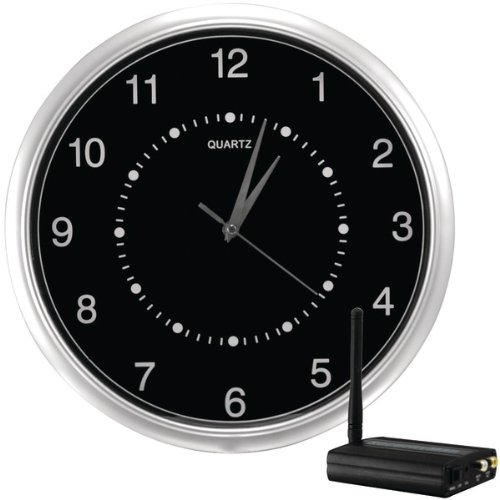 Interference-Free Wireless Wall-Clock Hidden Camera Kit - SECURITY MAN