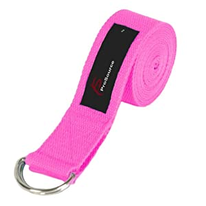 Buy ProSource Yoga Strap - With Metal D-Ring by ProSource