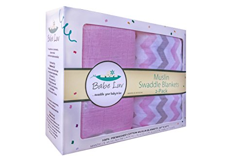 100-cotton-muslin-swaddle-blanket-2-pack-for-baby-girls-47-x-47-introductory-offer-by-babeluv
