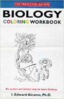 Biology Coloring Workbook Text Only 1st First Edition