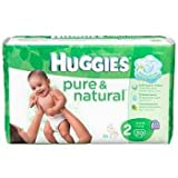Huggies Pure & Natural Diapers, Size 2 (12-18 lb), Disney Baby, Jumbo, 30 ct.