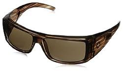 Spy Optic Oasis Oasis Wrap Sunglasses,Tortoise,60mm