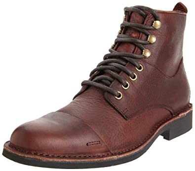 Buy Cole Haan Mens Air Blythe Cap Toe Boot by Cole Haan