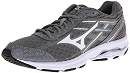 Mizuno Men\'s Wave Unite 2 Training Shoe,Grey/White,12.5 M US
