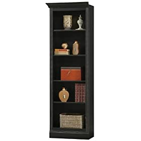 Howard Miller 920-014 Ty Pennington Oxford Bookcase Left Return by