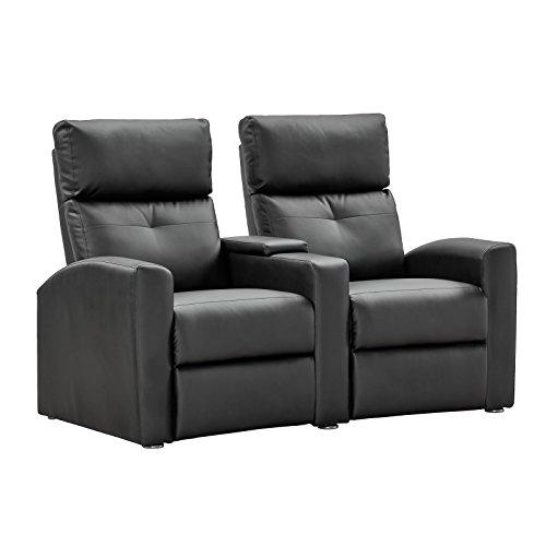 Kinosessel-2-Sitzer-Fernsehsessel-Relaxsessel-TV-Sessel-mit-Relaxfunktion-Kunstleder-schwarz