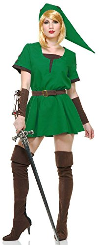 Elf Warrior Princess Costume Green