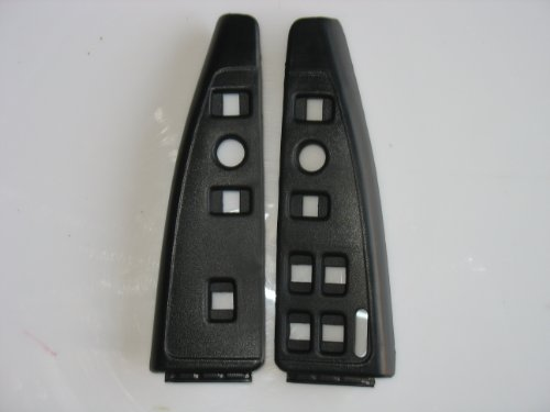 NEW CHEVY 91-96 CAPRICE IMPALA SS BUICK CADILLAC INTERIOR DOOR SWITCH PANELS BLANK BLACK (Control Panel For 1995 Chevy compare prices)