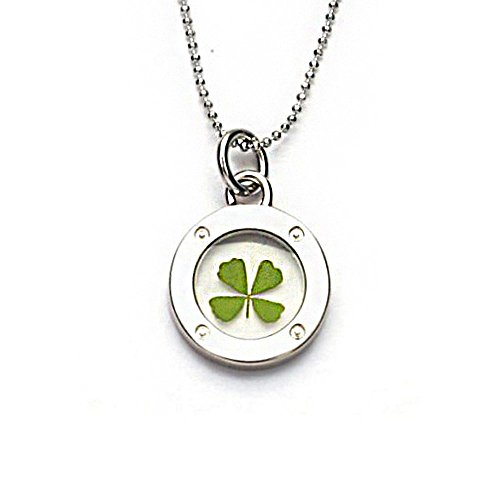 stainless-steel-real-irish-four-leaf-clover-symbol-of-good-luck-clear-round-pendant-necklace-16-18