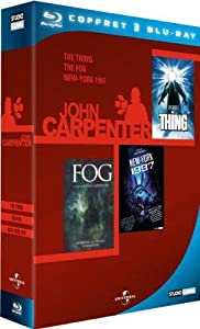 John Carpenter - Coffret - The Thing + New York 1997 + The Fog [Blu-ray]