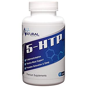 All Natural 5-HTP, ONLY £14.79 for 120 x 100mg Premium Quality UK Manufactured High Strength Capsules from Griffonia seed powder. FREE delivery on all UK orders