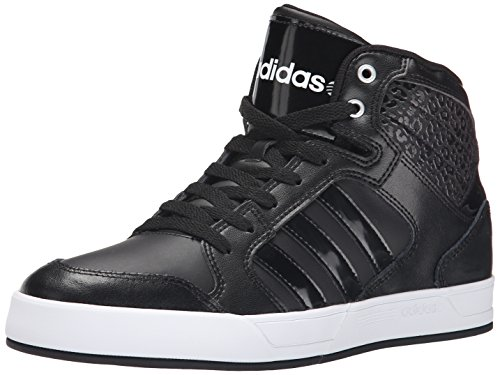 adidas neo women 39 s bbadidas performance raleigh mid w basketball fashion sneaker black black. Black Bedroom Furniture Sets. Home Design Ideas