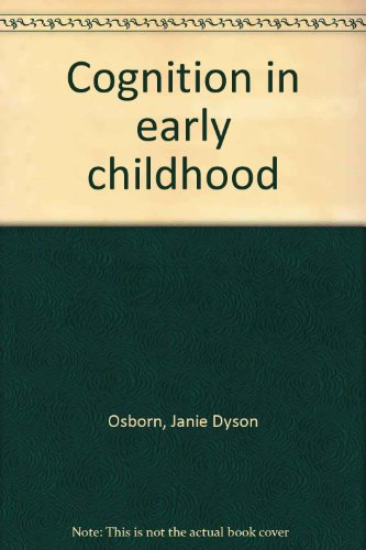 Cognition in early childhood