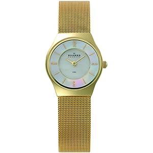 Skagen Women's 233XSGG Stainless Steel Watch