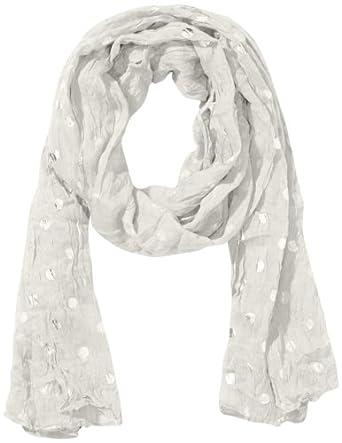 Codello Damen Tuch 41123706, Gestreift, Gr. One size, Weiß (off-white 17 17)