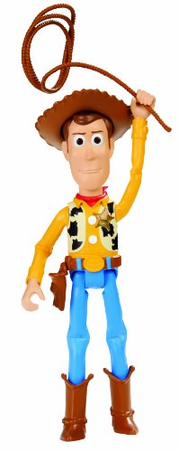 Disney/Pixar Toy Story Wrangler Woody Figure, 4""