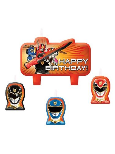 Power Rangers Candle Set (Each) - 1