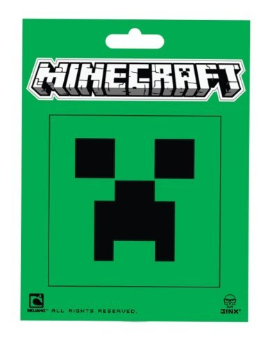 Minecraft- Creeper Face Sticker - 1