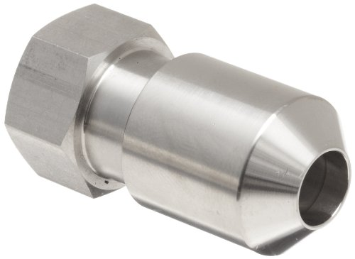 Dixon 13SLN Stainless Steel 304 Spring Loaded Nut for Wing Nut Style Clamps, 5/16