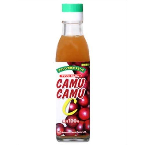 アマゾン カムカム果汁100% 角瓶 200ml