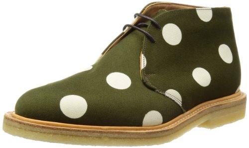 [マークマクナイリー] Mark McNairy Low Chukka Boot 9163NDOT Polka Fabric Olive(Polka Fabric Olive/9)