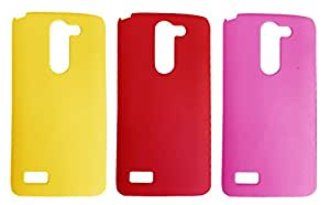 Winsome Deal 2 Pieces of Exclusive Quality Hard Back Cover Case For LG G3 Stylus D840