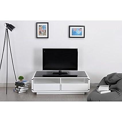 Meuble TV LOVIA blanc
