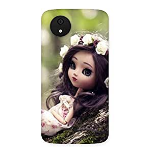 Impressive Angel And Tree Multicolor Back Case Cover for Micromax Canvas A1