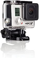 GoPro HERO 3+ Silver Edition - Videocámara deportiva de 10 Mp (vídeo Full HD, estabilizador, WiFi)