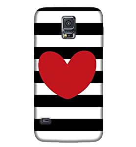 Samsung New S5 Multi Color Pattern Phone Back CoverPE21