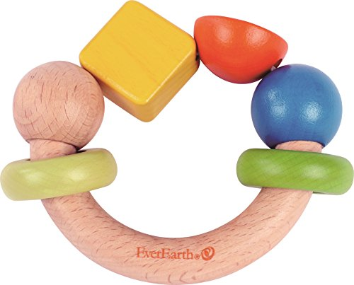 EverEarth Wooden Shapes Grasping Toy EE33588